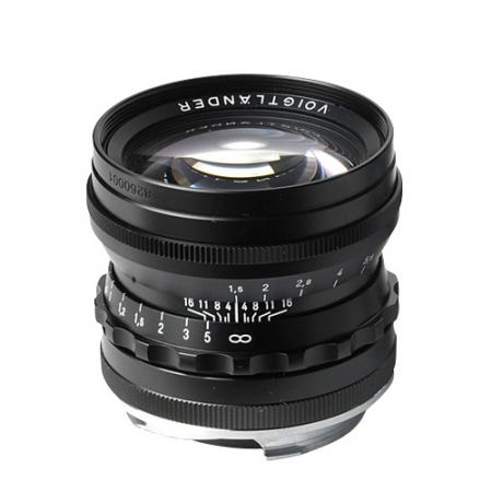 Voigtlander Nokton 50mm f/1.5 - negru
