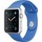 Apple Watch Sport 42mm - Carcasa Aluminiu Argintie, Curea Royal Blue