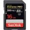 SanDisk SDHC 16GB Extreme Pro UHS-II 280 Mb/s SDSDXPB-16GB