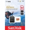 Sandisk Extreme Pro MicroSD 64GB, UHS-I, 100MB/s (667 X), video (viteza): V30 / C10 / U3 + adaptor SD