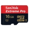 Sandisk MicroSD 16GB SDHC Extreme Pro, UHS-I, 95MB/s SDSDQXP-016G-X46