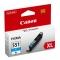 Canon CLI-551C XL - cartus cerneala cyan pentru Canon IP7250