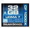 Delkin CF 32GB 1000X - card de memorie UDMA 7
