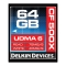 Delkin CF 64GB 500X - card de memorie UDMA 6