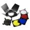 Fancier A-210 - set voleti/grid/filtre pentru blituri studio