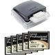 5 x Lexar Prof 800x CF 16GB - 120MB/s + Lexar Prof USB 3.0 Reader