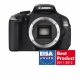 Canon EOS 600D Body - 18 MPx, LCD 3 inch, 3.7 fps, LiveView, filmare Full HD