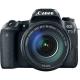Canon EOS 77D + EF-S 18-135mm f/3.5-5.6 IS USM, Negru