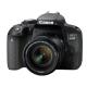 Canon EOS 800D negru kit EF-S 18-55mm f/4-5.6 IS STM