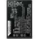 Fujifilm NP-T125 - Acumulator original pentru GFX 50S