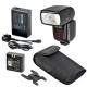 Godox V860C - kit blitz ETTL II pentru Canon, numar director 58