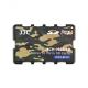 JJC - Cutie pentru carduri de memorie Micro SD, 10 compartimente, camuflaj