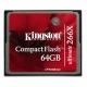 Kingston CF Ultimate 64GB  266x cu MediaRECOVER