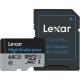 Lexar High Endurance - card microSDXC UHS-I 64GB +Adaptor