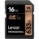 Lexar SDHC 16GB 633x Professional Class 10 UHS-I U1