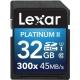 Lexar SDHC 32Gb 300x CLS 10 UHS-I 45MB/s