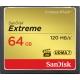 SanDisk CF 64GB Extreme 120MB/s UDMA 7, 800x