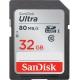 SanDisk SDHC Ultra 32GB 80Mb UHS-I U1Class 10