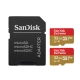 Sandisk Dual Extreme MicroSD 32GB UHS-I, 100MB/s V30 / C10 / U3, 2 buc. + Adaptor