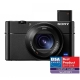 Sony Cyber-Shot DSC-RX100 V - 20 MP, zoom optic 2.9x, ZEISS Vario-Sonnar T, F1.8/2.8 - F8.8/25.7