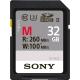 Sony SDHC 32Gb Class10 260MB/s UHS-II, U3 SF-M32
