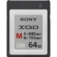 Sony XQD Seria M, 64GB, 440MB/s citire, 150MB/s scriere