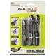 Lenspen DSLR Pro kit - Kit curatare cu 3 pensule + microfibra DSLR-1