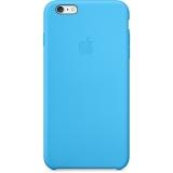 Apple - husa capac spate silicon pentru iPhone 6 Plus - albastru