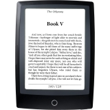 BOOKEEN Cybook Odyssey HD FrontLight 2 - e-book reader 6.0