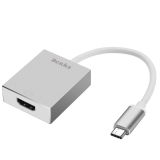 Benks - Adaptor USB-C la HDMI, Argintiu