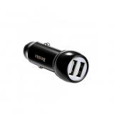 Benks Incarcator auto Qualcomm Quick Charge 3.0 Dual Metal - negru