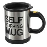 Cana Self Stirring Mug - cana neagra termoizolanta