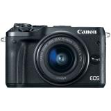 Canon EOS M6 Kit EF-M 15-45mm IS STM, negru