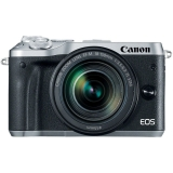 Canon EOS M6 argintiu Kit EF-M 18-150mm IS STM
