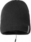 Cellular Line MUSIC CAP - Caciula cu casti stereo si microfon - negru