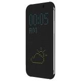 Cronos Husa Dot View pentru HTC One A9 - Negru