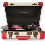 Crosley Executive CR6019A - Pick-up portabil, Rosu