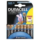 Duracell Baterie Turbo Max AAA LR03 8buc