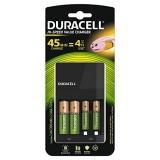 Duracell CEF14 - Incarcator + 2 x acumulatori AA, 1300mAh + 2 x AAA, 750mAh