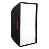 Dynaphos Softbox 80x120cm cu suport grid - montura Bowens