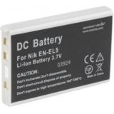 Eneride - Acumulator replace tip Nikon EN-EL5, 1000mAh