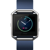 FitBit Blaze - Smartwatch Fitness Wireless, Marimea L - Albastru