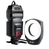 Godox ML150 - blitz macro sincron central