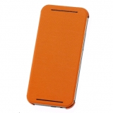 HTC HC V941 - Husa flip pentru HTC ONE M8 - portocaliu