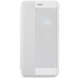 Huawei P10 Lite - Husa Flip tip Smart View Cover - Alb