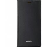 Huawei P8 Lite - Husa tip Flip Cover - Negru