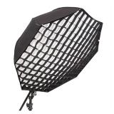 Kathay umbrella softbox 80 with grid - umbrela tip octobox 80cm cu grid