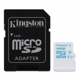 Kingston 16GB microSDHC UHS-I U3 Action Card, 90R/45W + SD Adapter