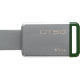Kingston DataTraveler 50 16GB, USB 3.0 (Metal/ Verde)