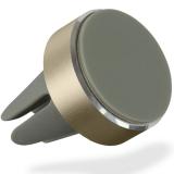 Kit HOLVENTMGD - Suport auto telefon magnetic, prindere de orificiul de aerisire, Auriu